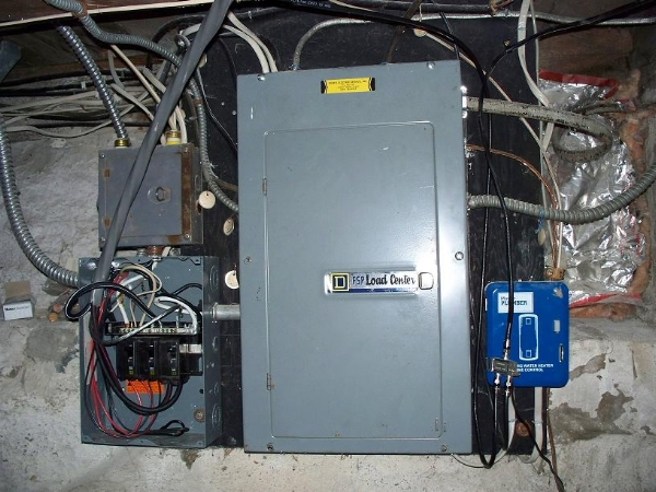 Electrical service upgrade